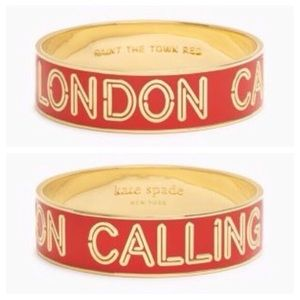 NWOT Kate Spade London Calling Bangle